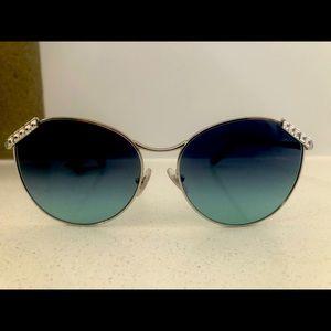 TIFFANY & CO. TF3073B Wheat Leaf Sunglasses